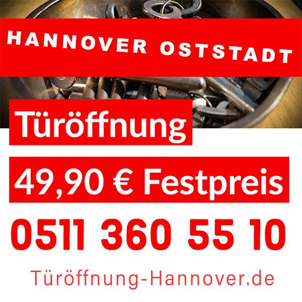 Hannover Schlüsseldienst Oststadt Preise